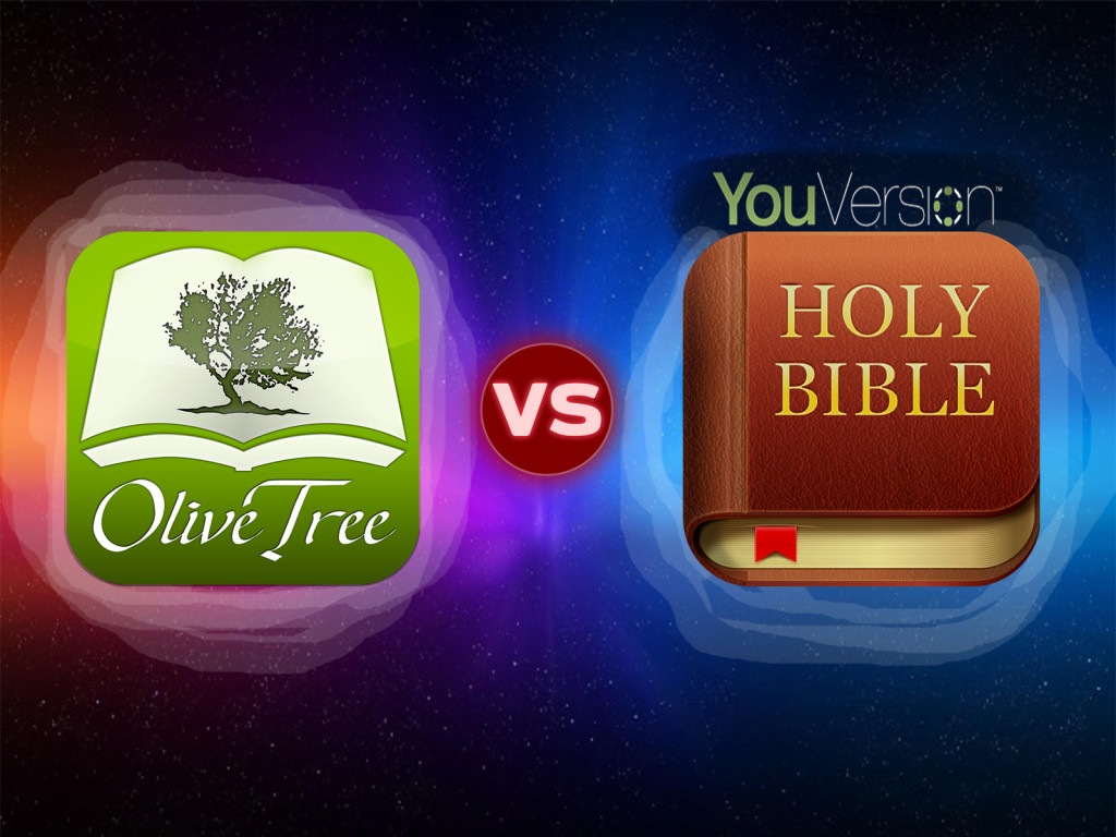 olivetree bible study vs youversion